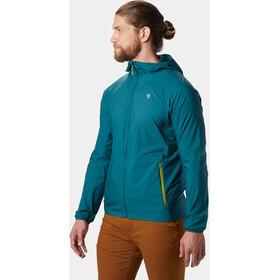 Mountain Hardwear Kor Preshell Chaqueta con capucha Hombre, dive